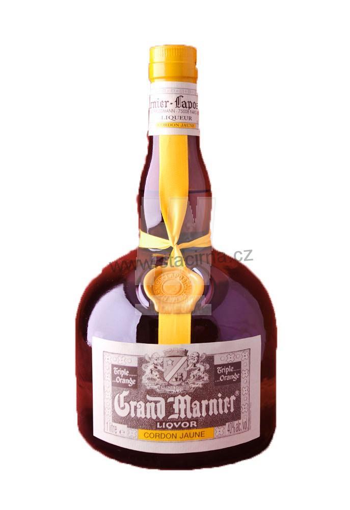 Grand marnier triple sec for Grand marnier cordon jaune aldi
